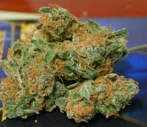 Cannabis in pure form